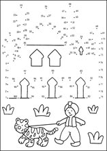 Worksheet. Hard dot to dot printable puzzles page 1