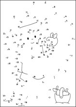 Printables Dot To Dot Worksheets 1-100 dot to connect the dots and color join from 1 100 more