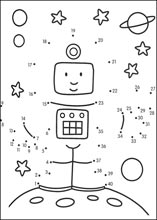 Medium dot to dot printable puzzles page 2