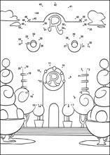 medium level coloring pages - medium dot to dot printable puzzles page 6