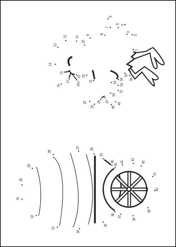 Number Names Worksheets dot to dot printable hard : Hard dot to dot printable puzzles (page 8)
